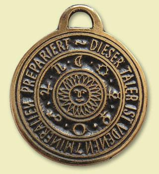 Astrologisches Amulet