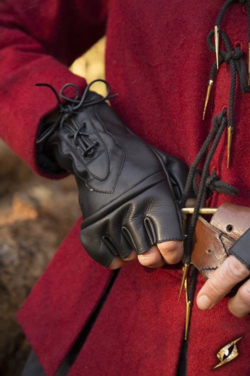 Thieves Gloves, Leather, Black