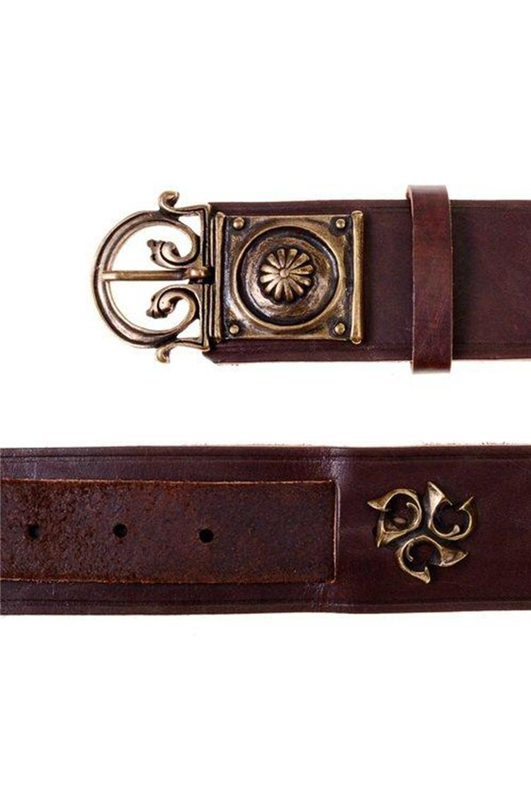 Roman Belt, 5cm, Brown