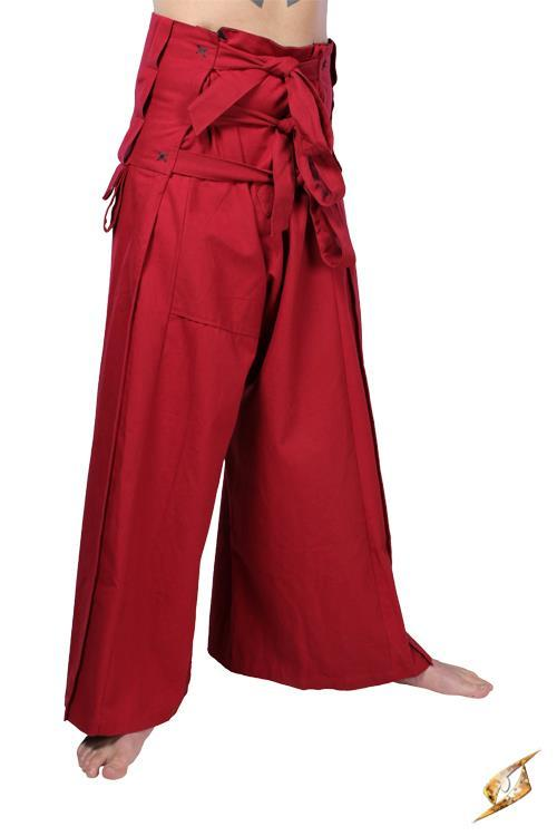 Samurai Pants B-Ware Red